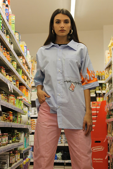 """Shirt """"CARONTE ISLAND"""" Light"""