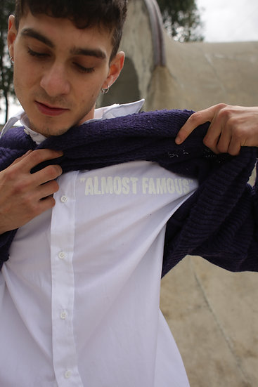 """SHIRT WHITE """"ALMOST FAMOUS"""""""