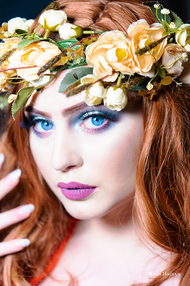 PixRez - Reza Hadian, London fashion & beauty photographer. An exotic hair and makeup beauty shot