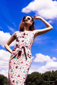 PixRez - Reza Hadian, London fashion & beauty photographer. Vintage 60's vogue look for summer fashion editorial.