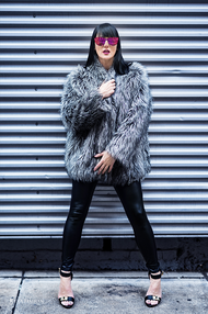 PixRez - Reza Hadian, London fashion & beauty photographer. Fashion photoshoot in street