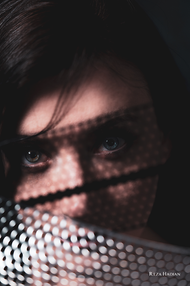 PixRez - Reza Hadian, London fashion & beauty photographer. Creative beauty photography eith LED lights