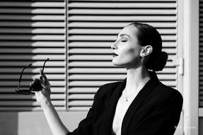 PixRez - Reza Hadian, London fashion & beauty photographer. A classic and vintage look portrait