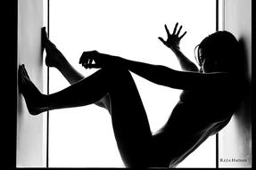 PixRez - Reza Hadian, London fashion & beauty photographer. A silhouette artistic nude photo from Reza's Art nude collection