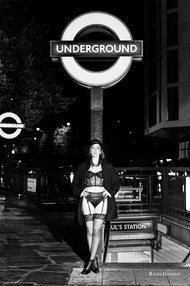 PixRez - Reza Hadian, London fashion & beauty photographer. An edgy and bold lingerie photoshoot in streets of London