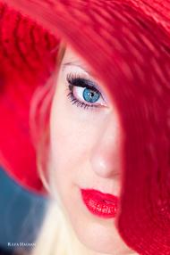 PixRez - Reza Hadian, London fashion & beauty photographer. Make it Red!
