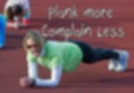 Megan Searfoss, planking