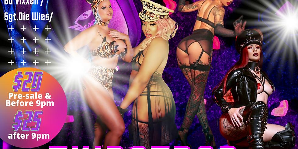 WomanopolySF Presents: Thristrap Burlesque