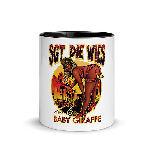 Attack of the 6 ft. Baby Giraffe Mug with Color Inside