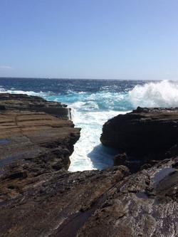 Koko Head sea cliffs
