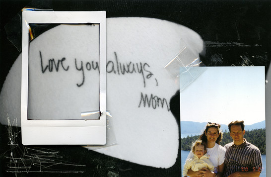 Love you always, Mom