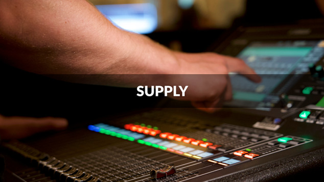 Our continued equipment investment plan ensures we always have the latest equipment available for your projects, we boast an impressive selection of sound, lighting, rigging, and vision technology from industry-leading brands.