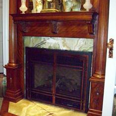 Onyx Fireplace Surround
