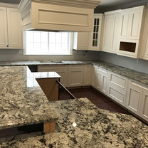 Alaska White Granite Kitchen