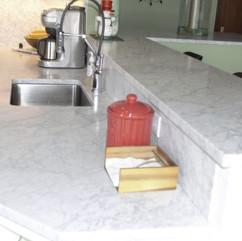 White Carrara Honed Marble