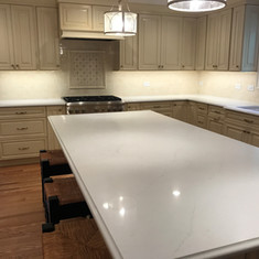 Aurea Quartz Kitchen Countertops