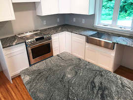 Viscount White Granite counters