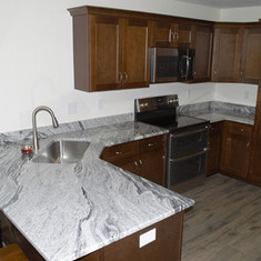 Viscont White Granite Kitchen