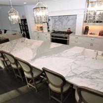Statuario Marble Kitchen Countertops