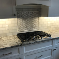 Alaska White Granite Kitchen Countertop