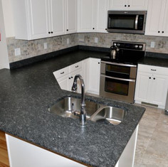 Silver Pearl Leathered Granite