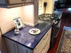Blue Maccaubas Countertop