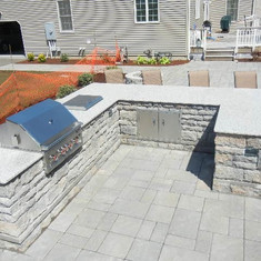 Outdoor Granite Kitchen