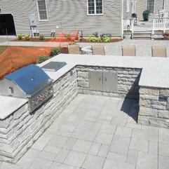 Outdoor Granite Kitchen
