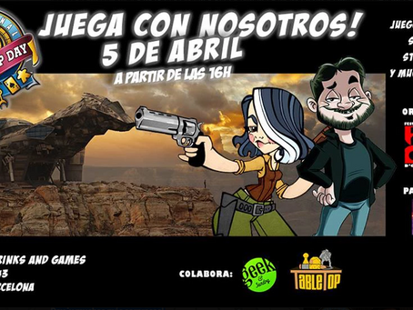 Fancon colabora en el TABLETOP DAY