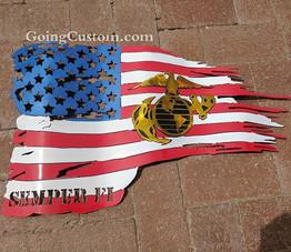 #goingcustom #marines #redwhiteandblue  #art #albuquerque #santafe #riorancho #newmexico