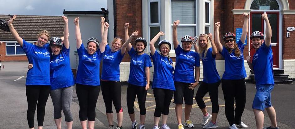 Staff Charity Bike Ride