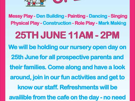 Nursery Open Day