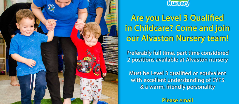 Join our Alvaston nursery team!