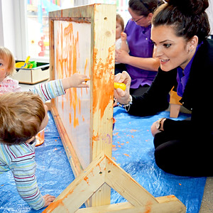 Borrowash Babies - Messy Play