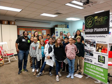 Heritage Elementary & Dillow Elementary Career Day (2019)