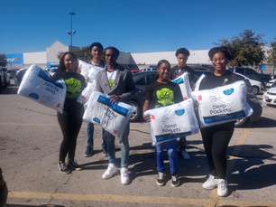 PREPSquad & Lunch Box of Love Community Service Feeding the Homeless (2019)