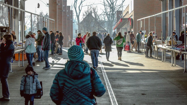 Winter farm market 2019, photo credit Fulton Street Market