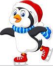 cute-cartoon-penguin-doing-ice-skating-i