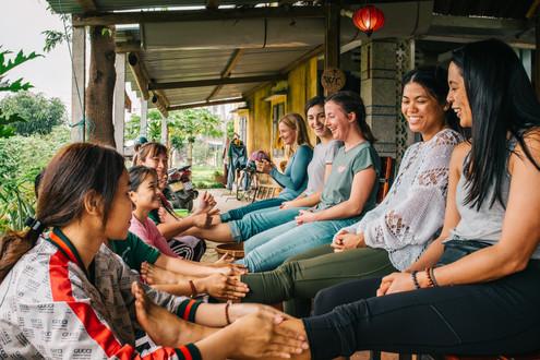 New Years Retreat - Gratitude Vietnam
