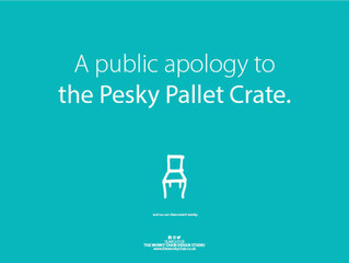 A public apology to the Pesky Pallet Crate