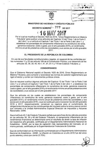 Decreto 777 de 2017