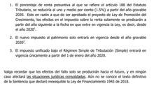 Nuevo proyecto de ley Reforma Tributaria