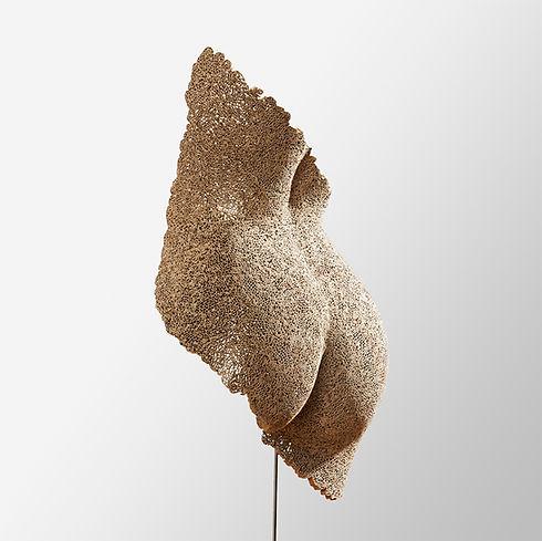 Sculpture, carton, cardboard, dentelle de carton, cardboard lace
