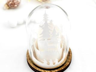 Weihnachts-Cloche
