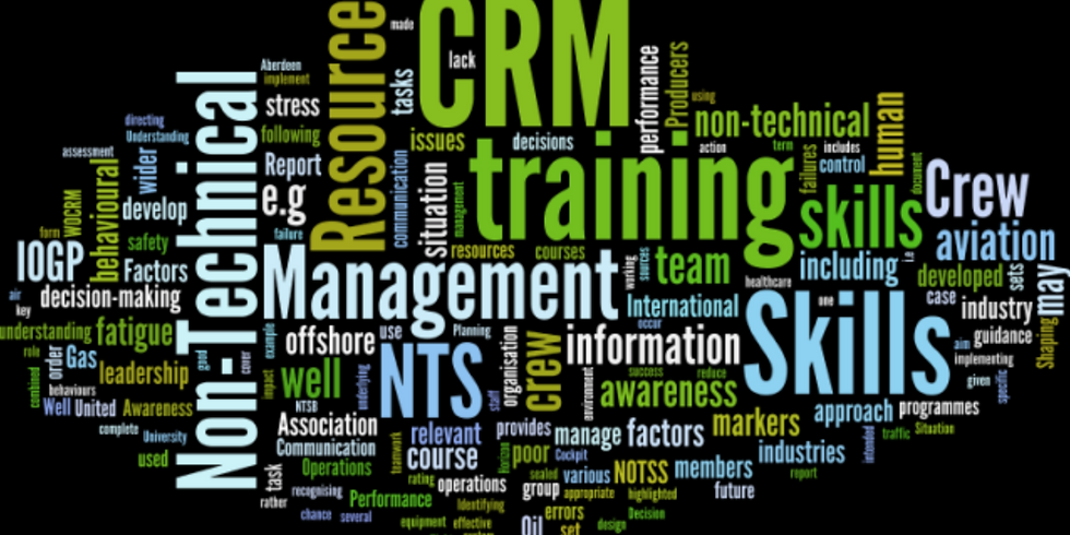 CRM Workshop: Startle and Surprise – Enhancing our Resilience