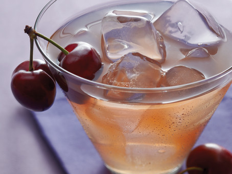 Cherry Green Tea Sparkler