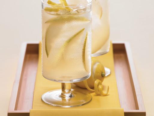Ginger Pear Green Tea Lemonade