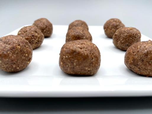 Chocolate Almond Butter Bites (Low Sodium)