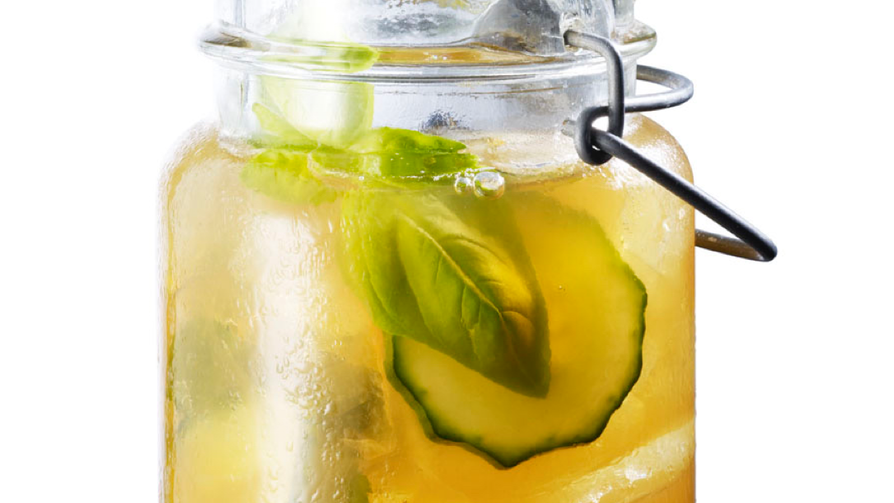 Chamomile Iced Tea Lemonade