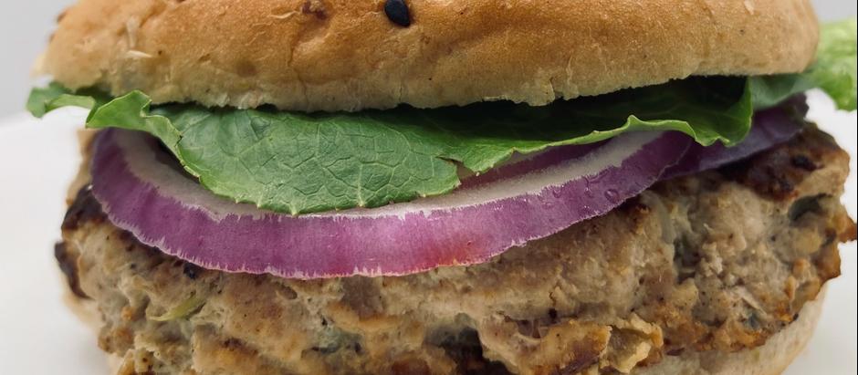 Turkey Burger on Whole Grain